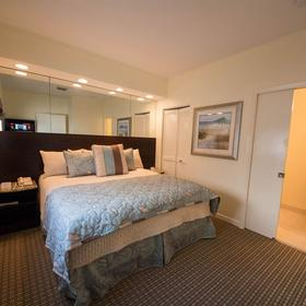 Crystal Beach Suites Hotel Bedroom