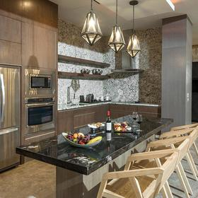 The Residences at Grand Luxxe Nuevo Vallarta — Residence Kitchen