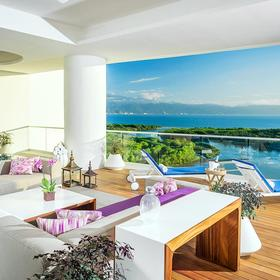 The Residences at Grand Luxxe Nuevo Vallarta — Sample unit view