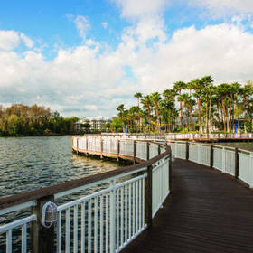 Marriott's Cypress Harbour Boardwalk