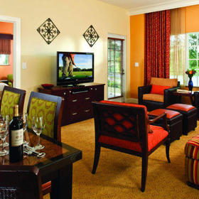 Marriott's Lakeshore Reserve Living Area