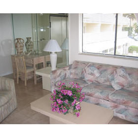 La Costa Beach Club Resort - Unit Living Area
