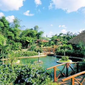 Dreams La Romana Resort and Spa Grounds