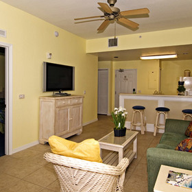 The Cove on Ormond Beach - South Tower — Living Area