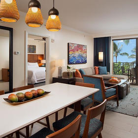 The Westin Nanea Ocean Villas Dining Area