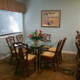 Coral Reef Resort — Dining Area