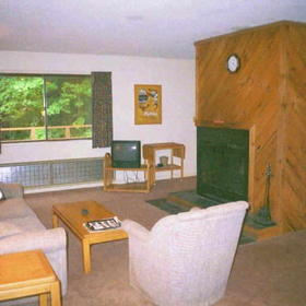 Cold Spring Resort - Unit Living Area
