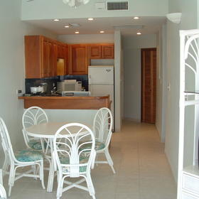 AquaMarina Suites — - Unit Dining Area