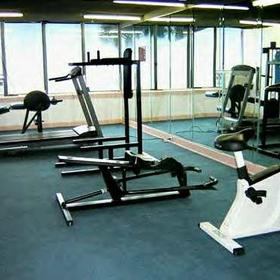 Maritime Beach Club - work out equipment