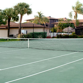 Blind Pass Condominiums - Tennis Court