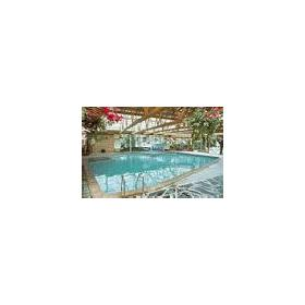Indoor pool at the Shearwater Country Club