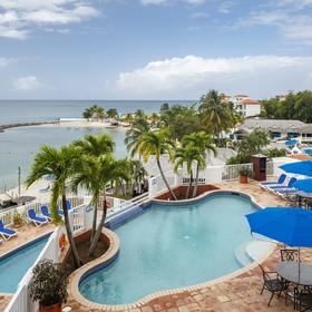 Windjammer Landing Villa Beach Resort Pool Area