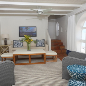 Windjammer Landing Villa Beach Resort Living Area