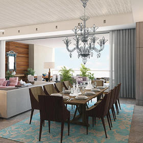 The Residence at Grand Luxxe Riviera Maya — Dining Area