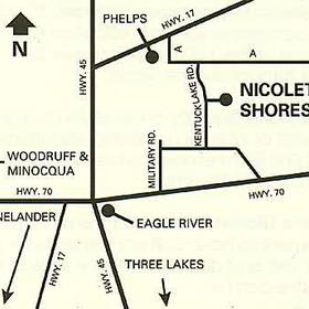 Nicolet Shores - Area Map