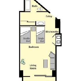 Las Torres Gemelas - unit floorplan