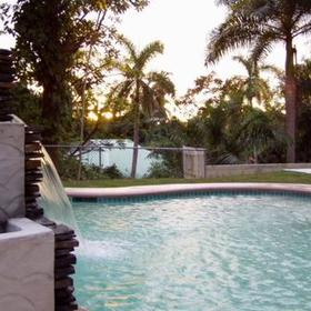 Outdoor Pool at Panama Vacation Quarters