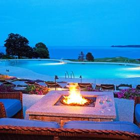 Samoset Resort — Firepit