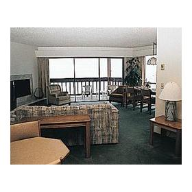 The Sandpiper Condominium - Unit Living Area