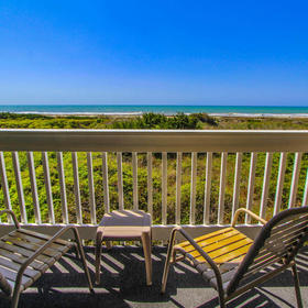 A Place at the Beach - Windy Hill — A Place at the Beach Balcony