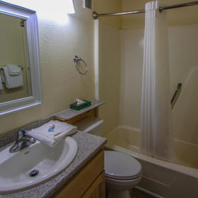 A Place at the Beach - Windy Hill — A Place at the Beach Bathroom