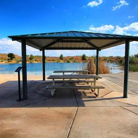 Canyon Villas at Coral Ridge — Covered Picnic Area