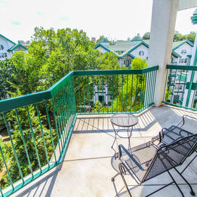 Carriage Place Resort Balcony
