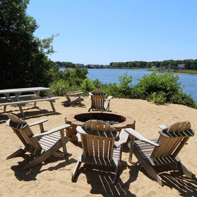 The Cove at Yarmouth — Firepit