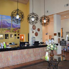 Desert Breezes Resort Lobby