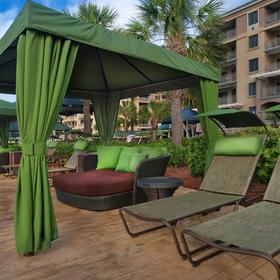 Marriott's Barony Beach Club Cabanas