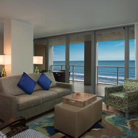 Marriott's Crystal Shores Living Area