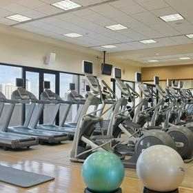 Hilton Grand Vacations Club (HGVC) at Hilton Hawaiian Village Fitness Center