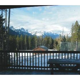Banff Gate Mountain Resort - View From Deck