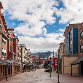 Resort is right on main street - lots of shops and restaurants