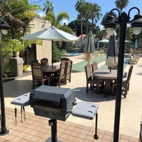 Camelot by the Sea — Barbecue Area