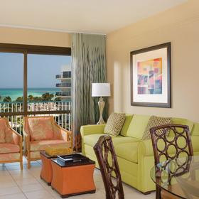 Marriott's Aruba Ocean Club — Living Area