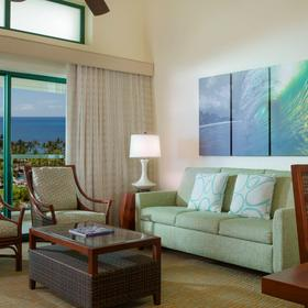 Marriott's Ko Olina Beach Club — Living Area