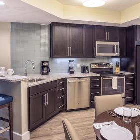 Ocean 22 by Hilton Grand Vacations (HGVC) — Kitchen