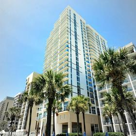 Ocean 22 by Hilton Grand Vacations (HGVC) — Exterior
