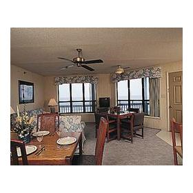 Outer Banks Beach Club II - Unit Dining Area