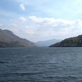 Entrance to Killeery Lough or Fiord