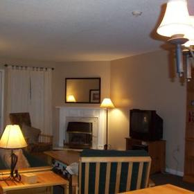 Nordic Inn Resorts - Unit Living Area