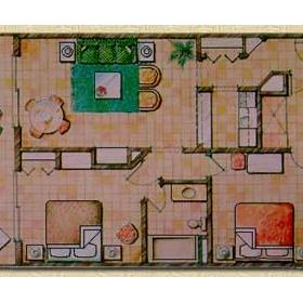 Club Buena Vista - Unit Floor Plan