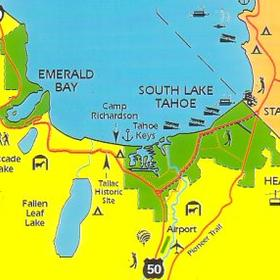 Wyndham South Shore — - area map