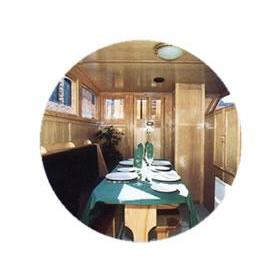 Canaltime at Union Wharf — Dining Room on Board