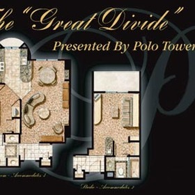 The Villas at Polo Towers - Unit Floor Plan