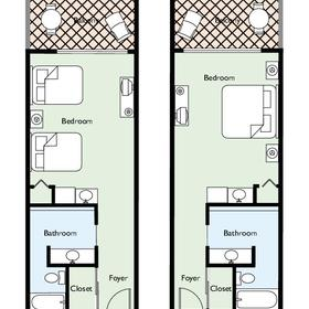Elysian Beach Resort - Floor Plans