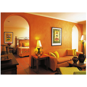 Grand Oasis Marien (formerly Marien Coral By Hilton) — Grand Oasis Marien - Unit Living Area