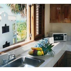 The Coconut Palms Resort — Kitchen of the 1 Bedroom Unit