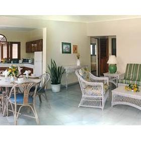 The Coconut Palms Resort — Living Room of the 3 Bedroom Unit